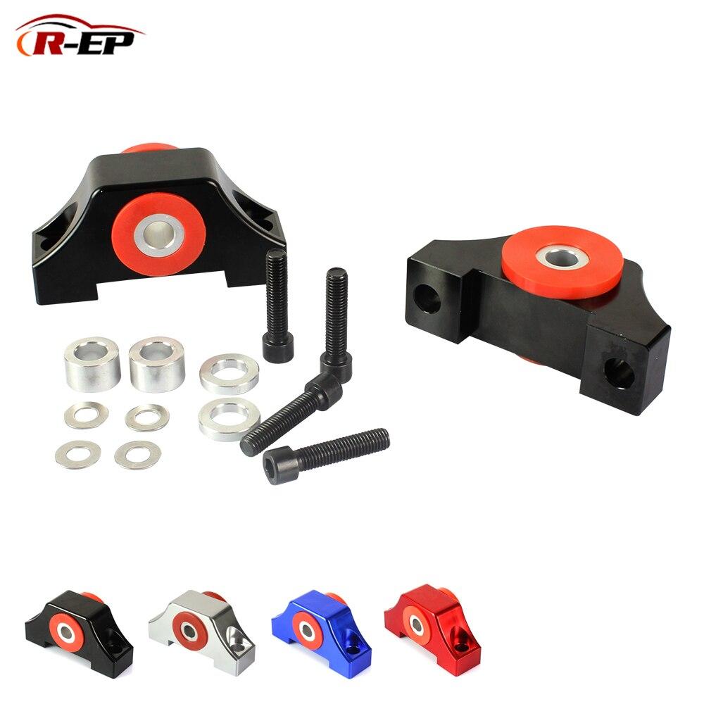 R-EP Billet Engine Motor Mounts Torque Mount Fit For Honda Civic EG EK B16 B18 B20 D15 D16 92-00 For Integra 94-01 For Acura CRV