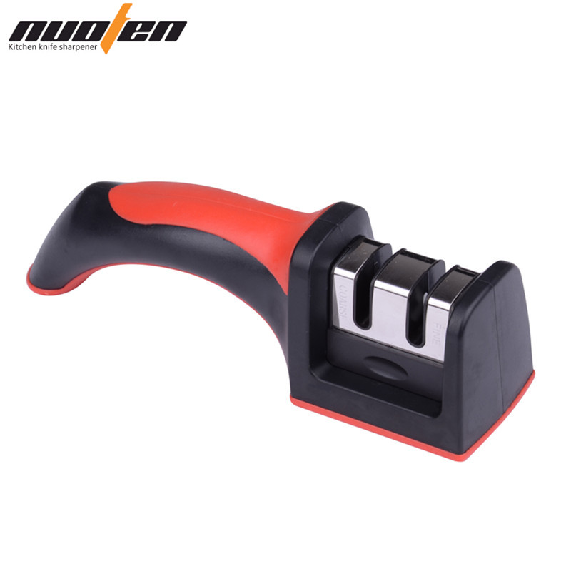 NUOTEN Brand Knife Sharpener 2 Tahap Sharpening Knives Semua Pisau Dapur Ukuran Sharpen Afilador De Cuchillos Kitchen Tools