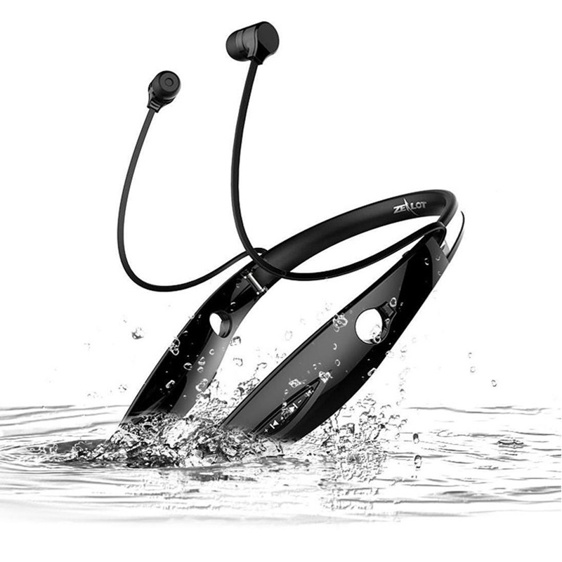 ZEALOT H1 Wireless Sport Bluetooth Headphones Auriculares HIFI Bass Sport Earphone Hands Free Luminous Earphone with MIC