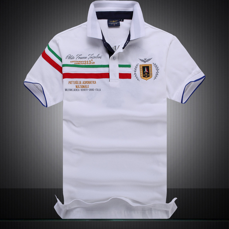 Online buy wholesale aeronautica militare from china for Best polo t shirts for men