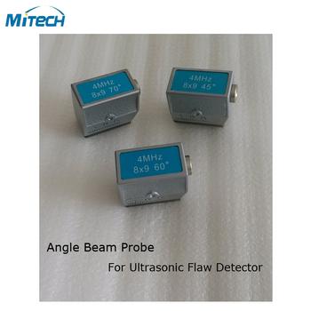 4 MHz 8 #215 9 45 + 60 + 70 stopni kąt sonda przetwornika (3 sztuk) tanie i dobre opinie 4MHz 8x9 45+60+70 Degree MiTeCH Angle Probe