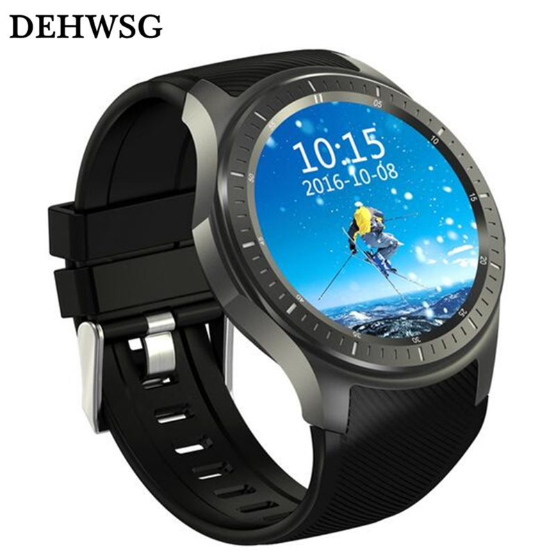 DEHWSG GPS Smart Watch Phone DM368 Android 5.1 Quad Core 512MB+8GB wearable devices support 3G WiFi Heart Rate Wristwatch PK X5 цена