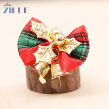 Zilue 6pcs/lot Christmas Bow-knot Bowl Decor Christmas Festival Holiday