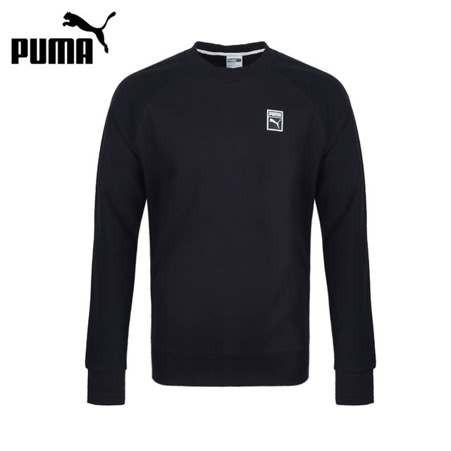 Original New Arrival 2017 PUMA Archive Logo Crew PRINT TR Men's Pullover  Jerseys Sportswear