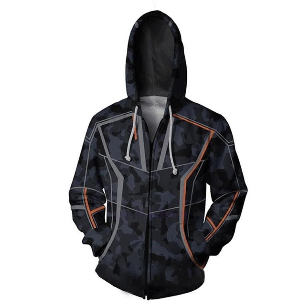 Avengers Iron Man Tony Stark 3D Print Hoodies Unisex Streetwear Zip Up Hoody Casual Zipper Sweatshirt Women Men Cool Hooded