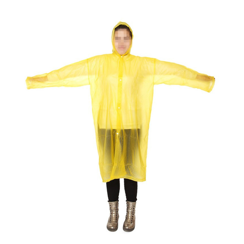 B//n emergency waterproof poncho rain cape ideal for festivals camping outdoor