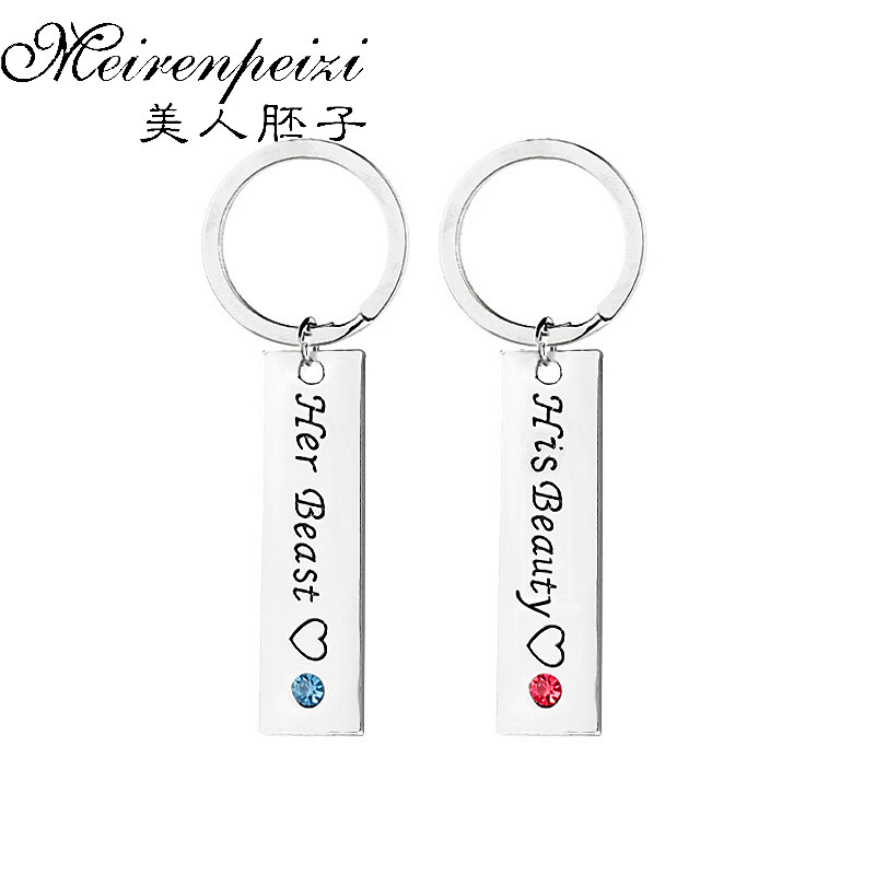 Beroemd 3 Pcs Mother Father Baby Boy Necklace & Keychain Mom Dad Son  &WL42
