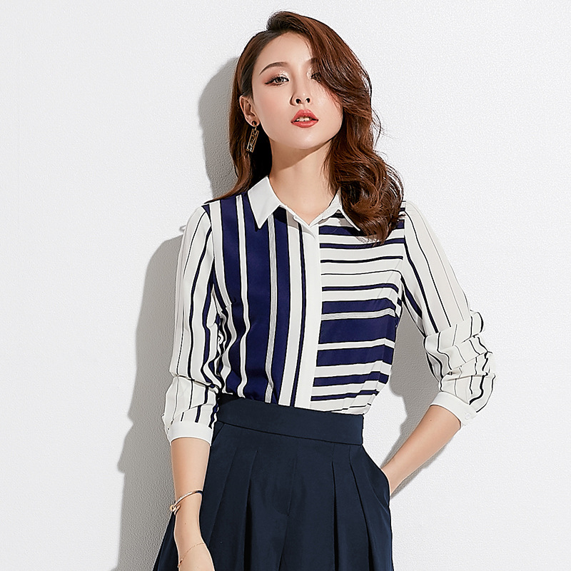 Women's Clothing Fashion 2019 Hot Style Autumn Women Cotton And Linen Lace Blouse Kimono Long White Elegant Shirt Social Ladies Office Tops A247