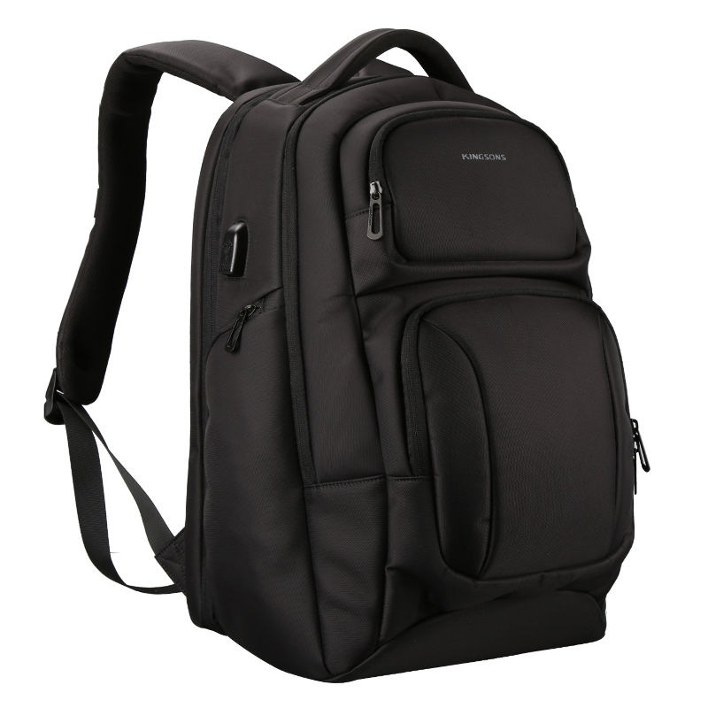 Kingsons Men's USB Charging Backpack Anti Theft Shoulder Bags Laptop Backpacks Travel Bag Male Casual the vamps leeds