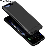 YourTribe Huawei Honor 9 Battery Case 6000 Mah Metal Frame Battery Charger Case Cover Pack Power