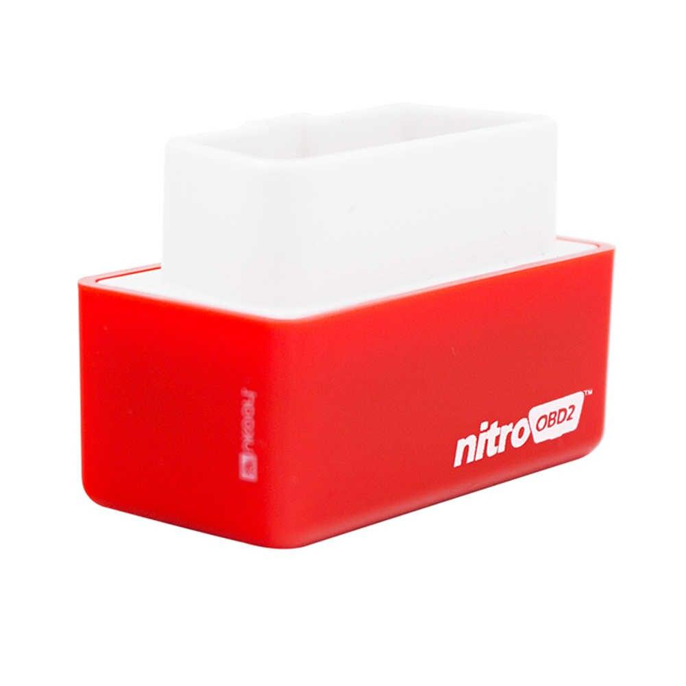 2 couches NITRO OBD2 ECO puce Tuning Box ECOOBD2 Nitro OBD2 Original Plug essence Diesel plus de couple de puissance économiser du carburant