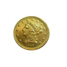 Дата 1842-C 1842-D 1842-O 1843 1843-D 1843-O 1844 1844-O США$2,5 позолоченный(старинная Золотая монета в 2,5 доллара) золотые в виде копия монет