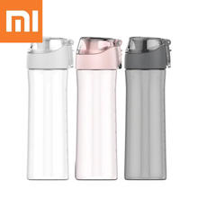 New Xiaomi Fun Home 600ml Sports Gym Drinking Tritan Cup Portable Leakproof