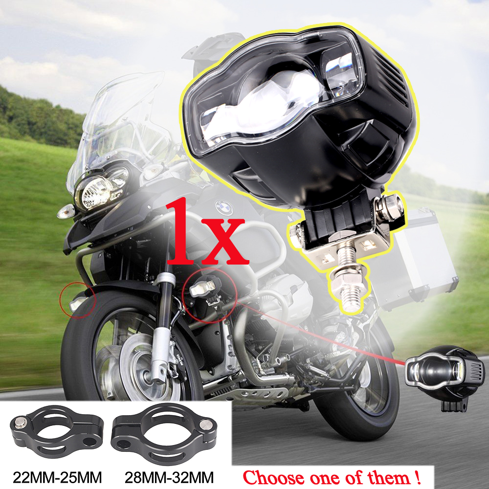 Motorcycle LED Driving Fog Spot Spotlight Lamp Light For