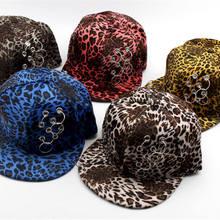 LDSLYJR de leopardo 2018 algodón aro de la gorra de béisbol de hip-hop gorra  ajustable Snapback sombreros para hombres y mujeres. c0c30ddb397e