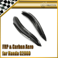 Car-styling For Honda S2000 AP2 Carbon Fiber Chargespeed Front Bumper Canard In Stock