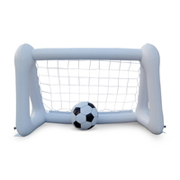 1pcs Inflatable Soccer Goal PVC Footable Net for Parents Children Playing Ball Games Children Entertainment Soccer Goal