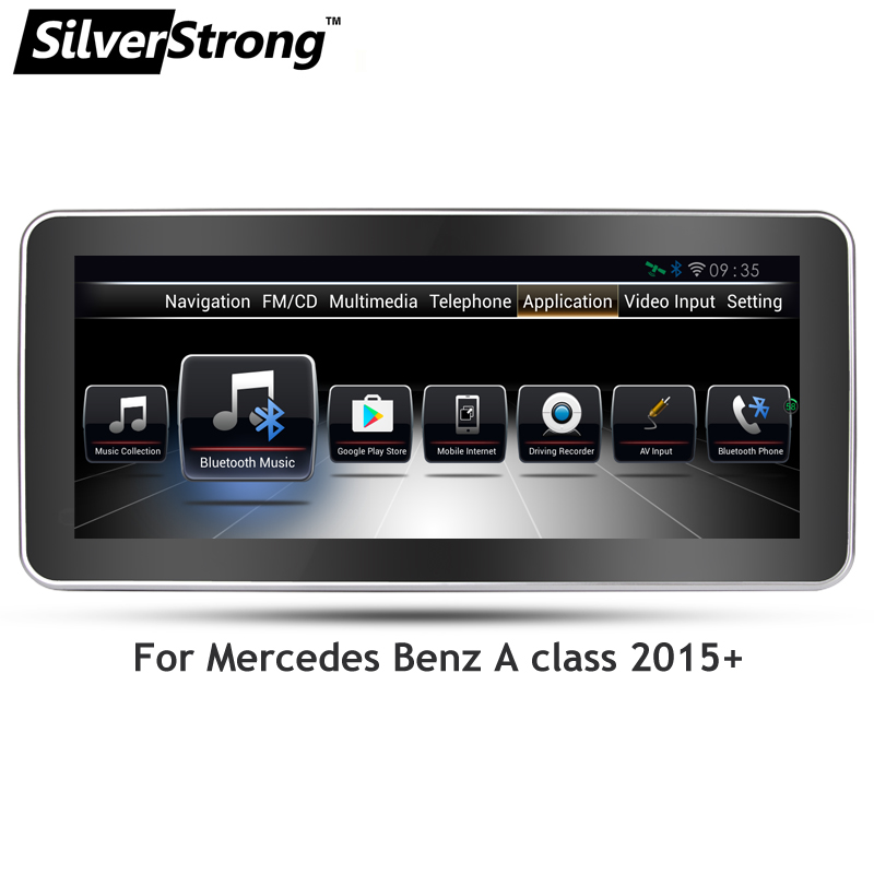 Zeniss freescale android os car gps navigation for for Mercedes benz app for android