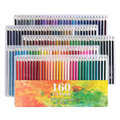 Ccfoud 160 цветов деревянные цветные карандаши Lapis De Cor масляные карандаш для эскизов для школы Профессиональные цветные карандаши для рисовани...
