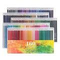 Ccfoud 160 colores lápices De colores De madera lápiz De dibujo De lápiz De Color profesional escolar