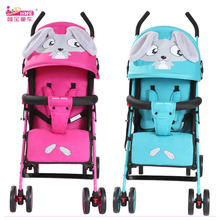 HOPE Cartoon Baby Carriage Lightweight Baby Stroller Portabl