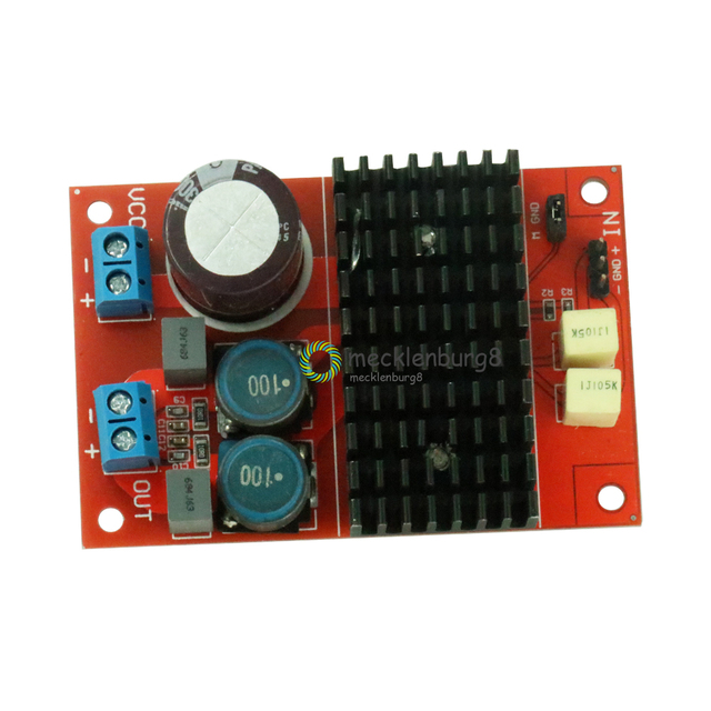New arrival DC 12 V 24 V TPA3116 mono channel digital Audio power amplifier board BTL of 100 W 75 mm X 50 mm Electrical modules
