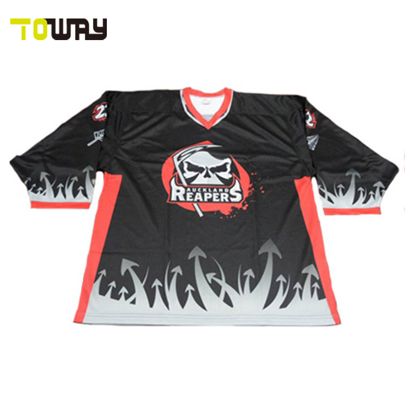 Hot Sale Sublimation ice hockey jersey custom style hockey shirts ... b768ba70f