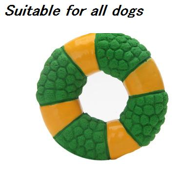 NEW dog toy pet cat environmental materials donuts chew chewing molar toy dog clean teeth dog training paling ball toys