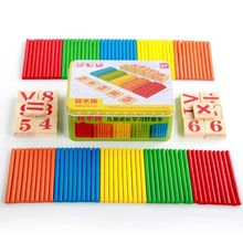 Children s mathematics teaching aids 100 primary school count bar addition and subtraction number of sticks