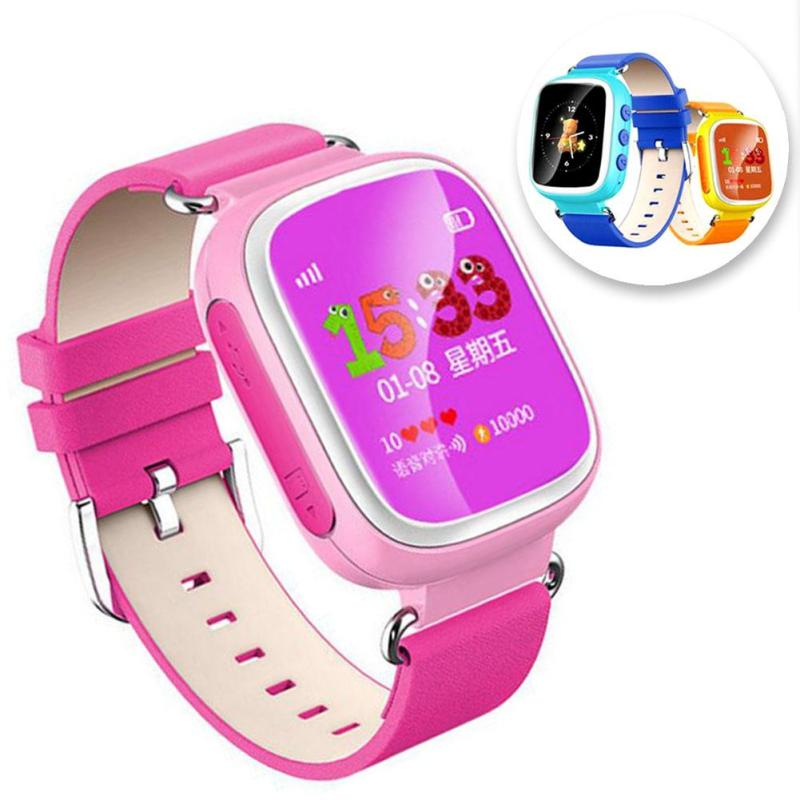 все цены на GPS Smart Watch Baby Watch Q90 with Wifi Touch Screen SOS Call Location Device Tracker For Kid Safe Anti-Lost Monitor Watch GPS онлайн