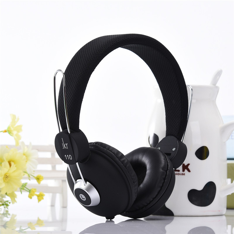 3.5MM Plug Foldable Wired Stereo Music Headphones Headset for Computer and Mobile Phone 5 Colors 1Pcs High quality New  Earphone rock y10 stereo headphone earphone microphone stereo bass wired headset for music computer game with mic