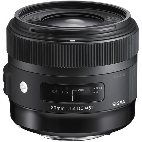 Sigma 30mm f/1.4 DC HSM Lens for Canon 600D 650D 700D 50D 60D 70D DSLR Cameras sigma 50 1 4 lens for canon 50mm f 1 4 dg hsm art lens for canon