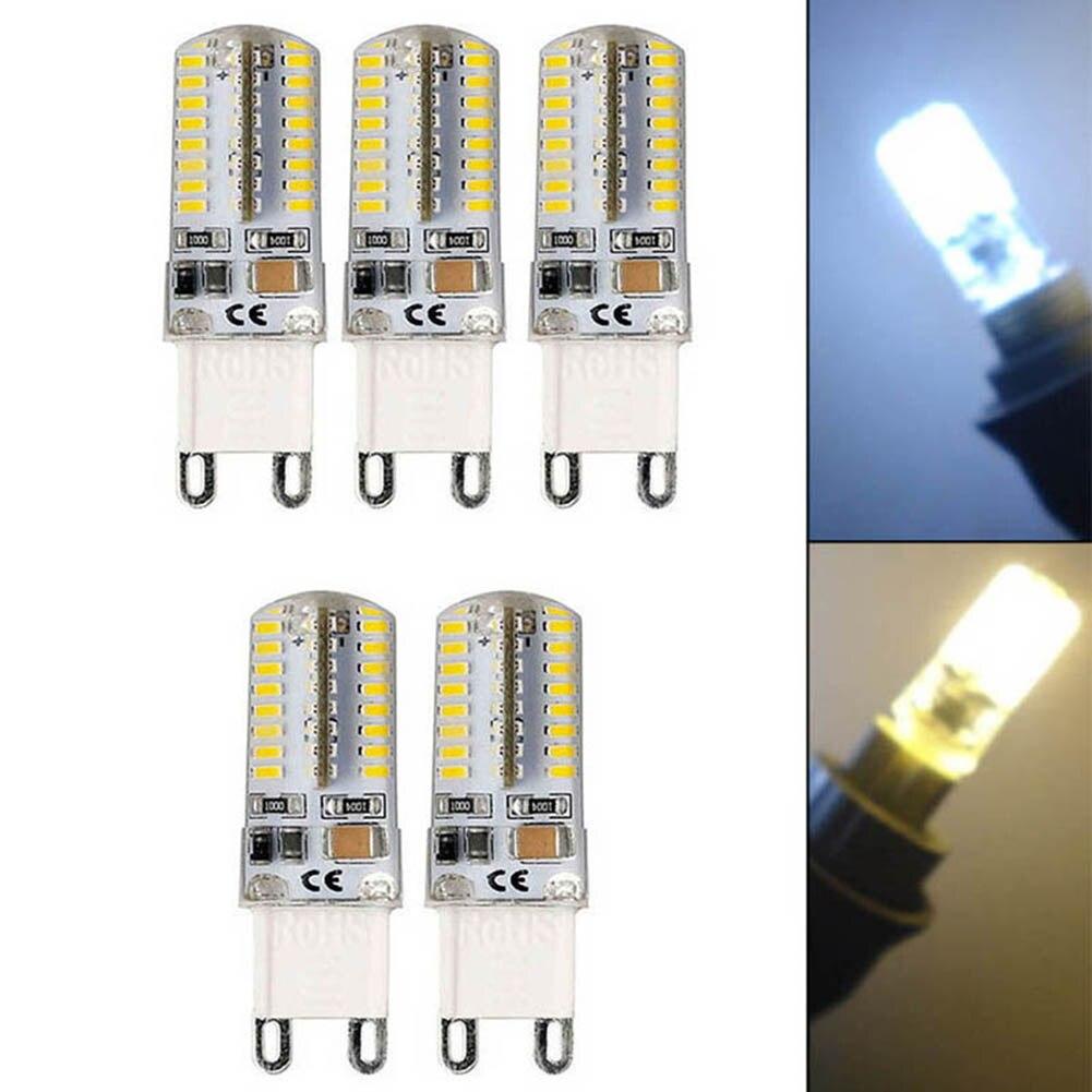 10Pcs G9 5W LED 3014 64SMD Pin Base LED Bulb Lamp Warm White/White 110/220V --M25