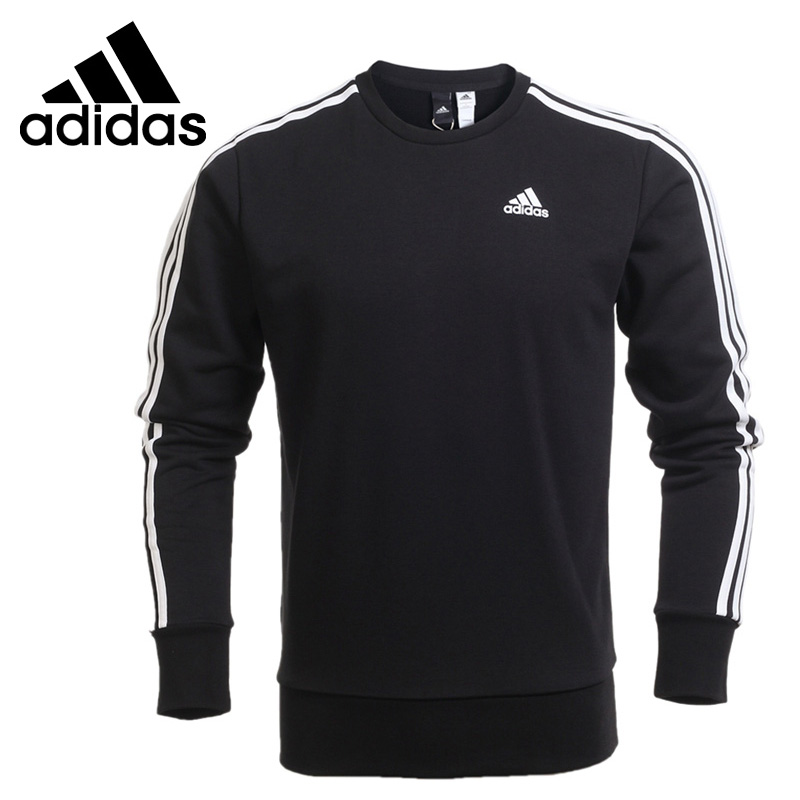 Original New Arrival 2018 Adidas ESS 3S CREW FT Men's Pullover Jerseys Sportswear adidas new arrival official ess 3s crew men s jacket breathable pullover sportswear bq9645