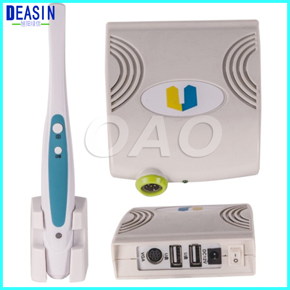 2.0 Mega Oral Dental Intra oral Camera VGA +USB Camera 1/4 Sony CCD Automatic Focusing Teeth Photo Shoot 2018 new dental intra oral camera usb vga output 1 4 sony ccd 1 3 mega pixels