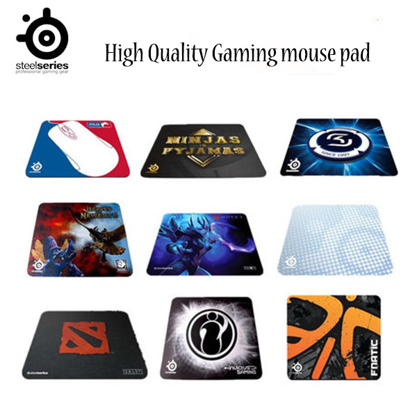 ICP 3mm Non-Slip Rubber Base Waterproof Mouse Pad with Stitching Edge Suitable for Computers Laptops Office and Home