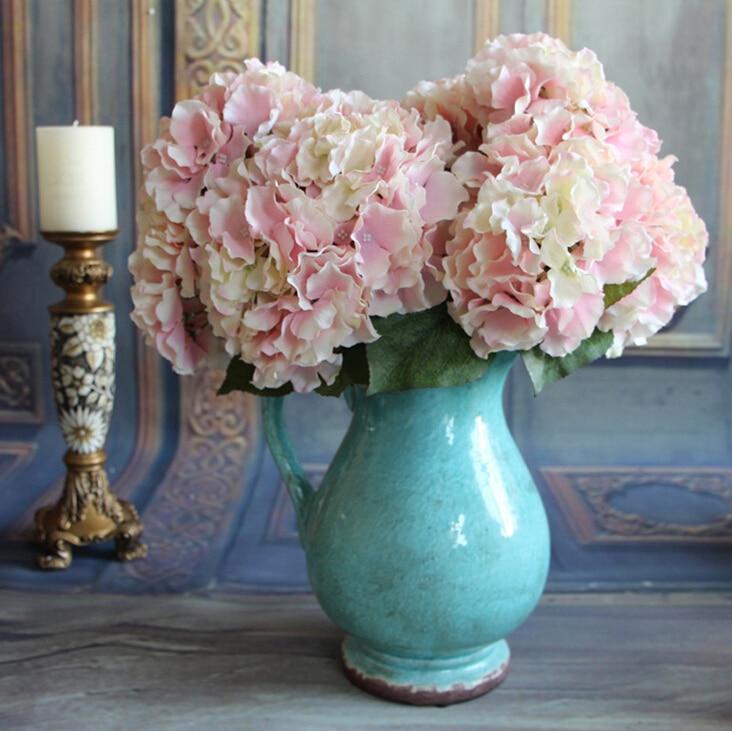 5] head large Hydrangea hydrangea flower wedding bouquet single ...
