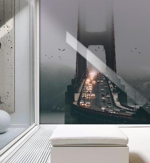 3d обои фрески мост живописных пейзажей 3d обои гостиной обои для рабочего стола Задний план