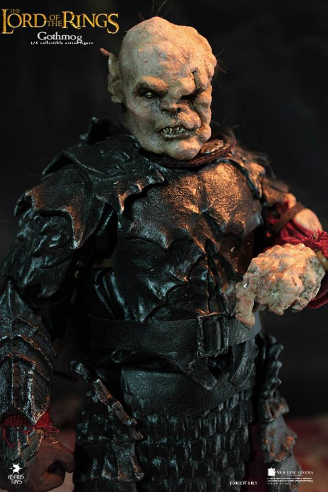 1/6 scale Collectible Figure doll The Lord of the Rings orc Gothmog 12 action figure doll Plastic Model Toys 1 6 scale full set soldier the lord of the rings elven prince legolas action figure toys model for collections