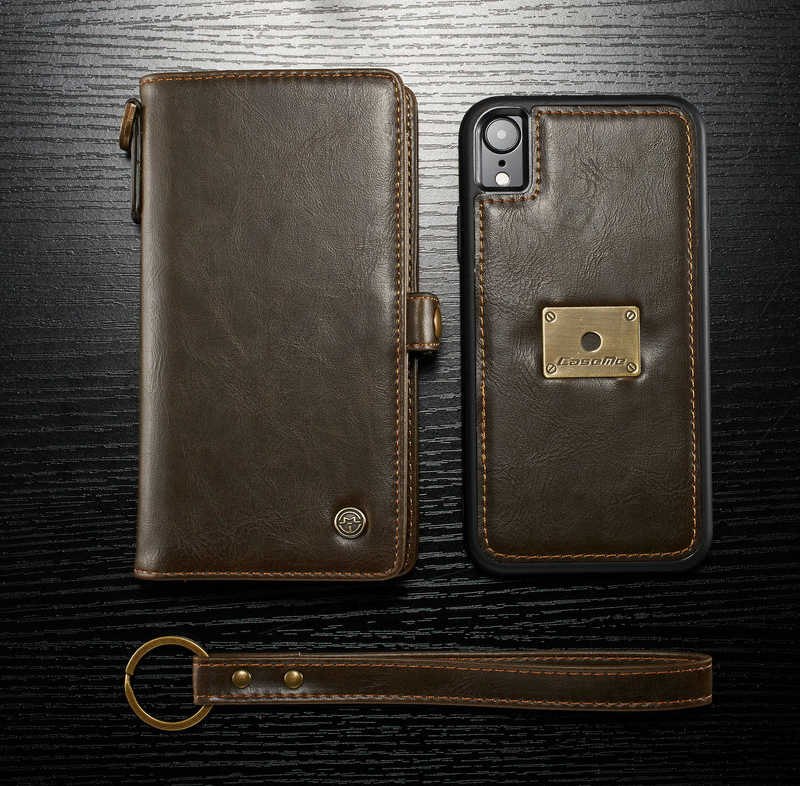 new style 5fe54 2d1a8 Detail Feedback Questions about Fashion Wallet Case For iPhone Xs ...