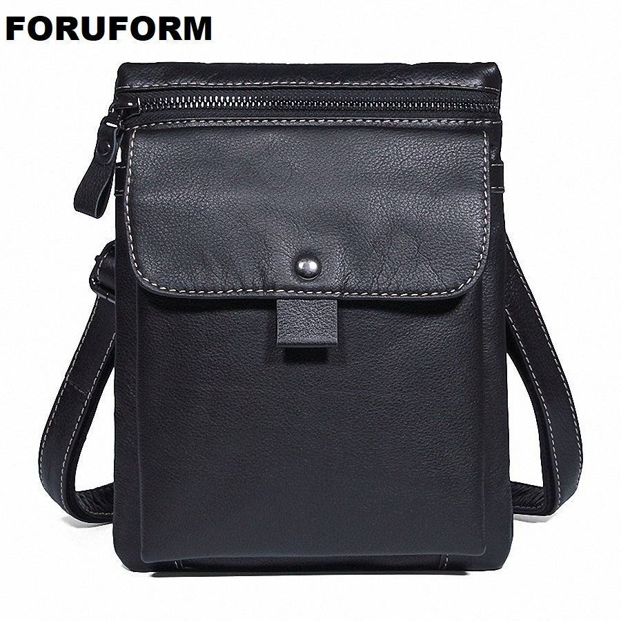 Genuine Leather Men Bags Fashion Male Messenger Bag Men's Small Briefcase Man Casual Crossbody Bag Shoulder Handbag LI-2217 genuine leather men bag fashion messenger bags shoulder business men s briefcase casual crossbody handbags man waist bag li 1423