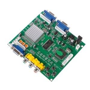 Image 3 - Аркадная игра RGB/CGA/EGA/YUV в двойной VGA HD видео конвертер плата адаптера GBS 8220