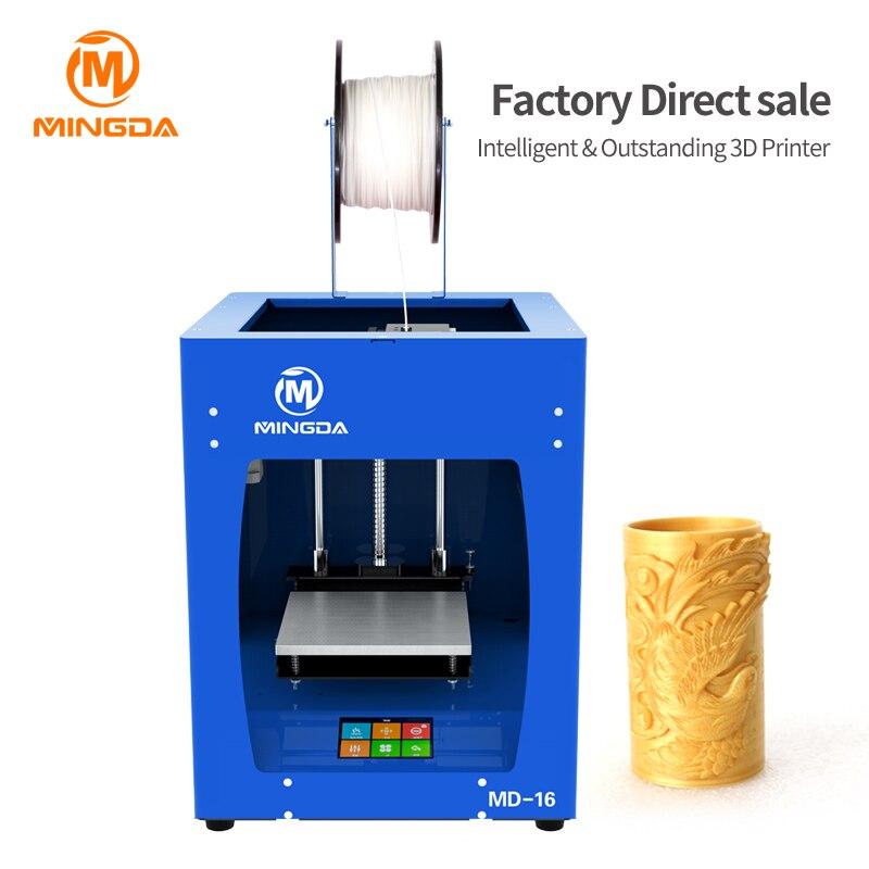 MINGDA Desktop 3D Drucker Maschine Mit Hoher Präzision 3D Druck Maschine Touchscreen MINGDA FDM 3D Drucker Maschine