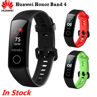 Original Honor Band 4 Smart Wristband Fitness Bracelet 0.95 AMOLED Touch Screen Swim Posture Detect Heart Rate Sleep Snap
