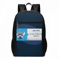 Mario Shell Backpack Blue Shell Is Following You Backpacks Sports Multifunction Bag High quality Print Man Woman Student Bags