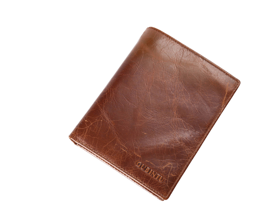 Vintage Genuine Leather Bifold Wallet Real Leather Travel Passport Protection Thin Wallet Tickets Credit Card Holder Short Purse zelda wallet bifold link faux leather dft 1857
