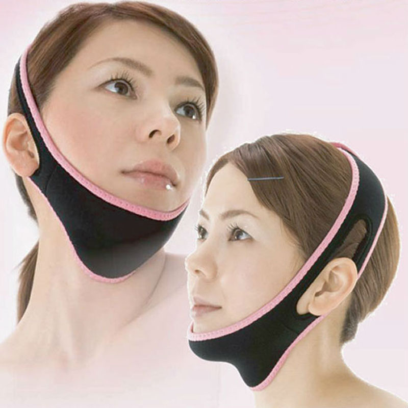 Face Lift Up Belt Sleeping Reduce Double Chin Massager New Beauty Massageador Thin Mask Bandage Shape And Lift health care body massage beauty thin face mask the treatment of masseter double chin mask slimming bandage cosmetic mask korea