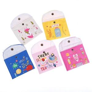 Image 2 - 1PC NEW Sanitary Towel Napkin Pad Tampon Purse Holder Case Bag Organizer Pouch Girls Feminine Hygiene Portable Mini Bag