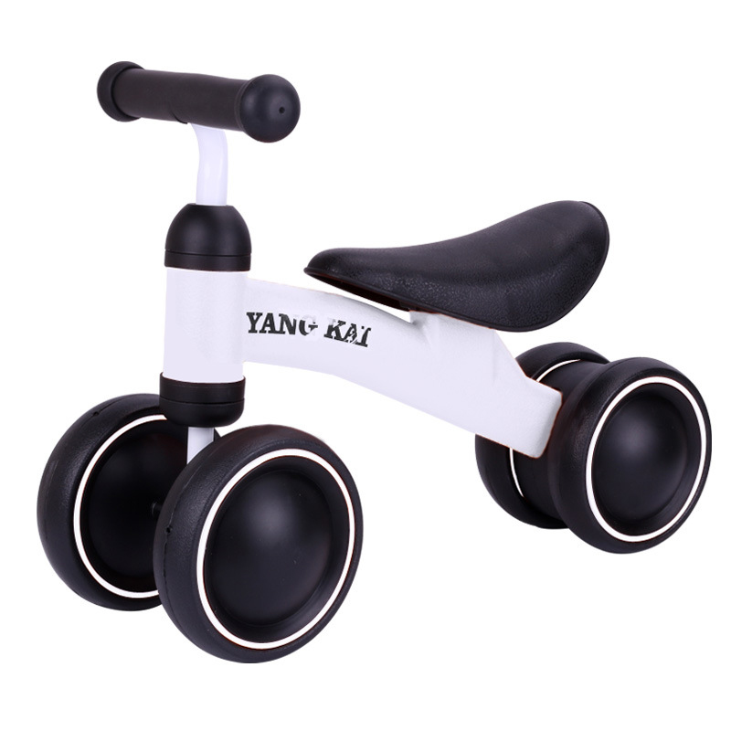 Baby Walker Tricycle Riding Toys Children Four Wheel Balance Bike Scooter Portable Bike No Foot Pedal Bicycle Baby Walker Car children bicycle baby mountain bike girl baby walker page 7