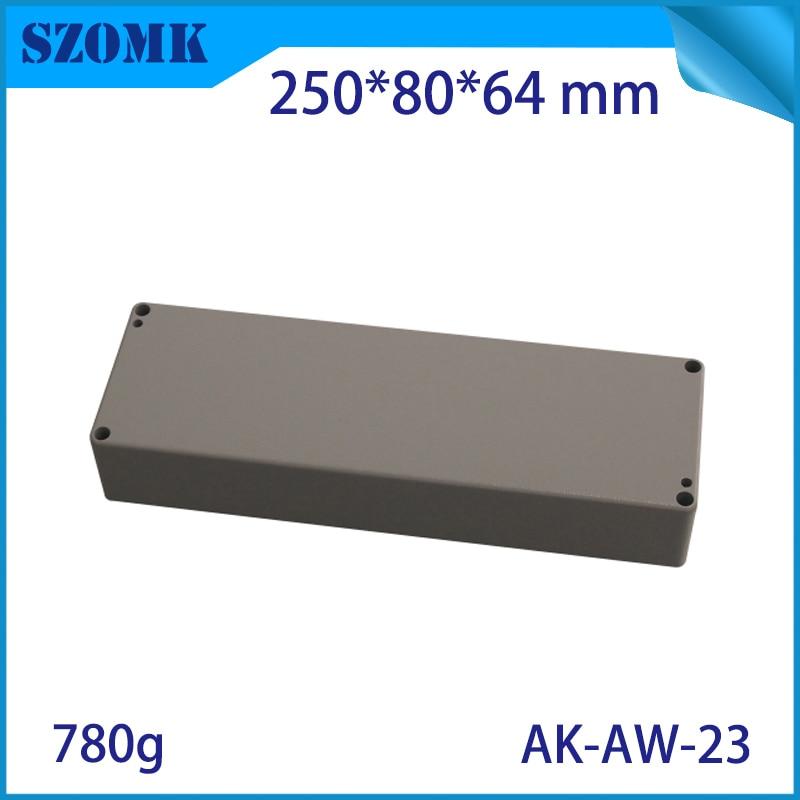 Aluminum Waterproof Box Electric Die Cast Aluminum Junction Box Szomk Aluminum Waterproof Enclosure For Pcb Design Aluminum Case